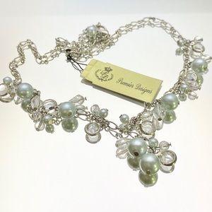 Premier Designs Sweet Dreams Faux Pearl Necklace